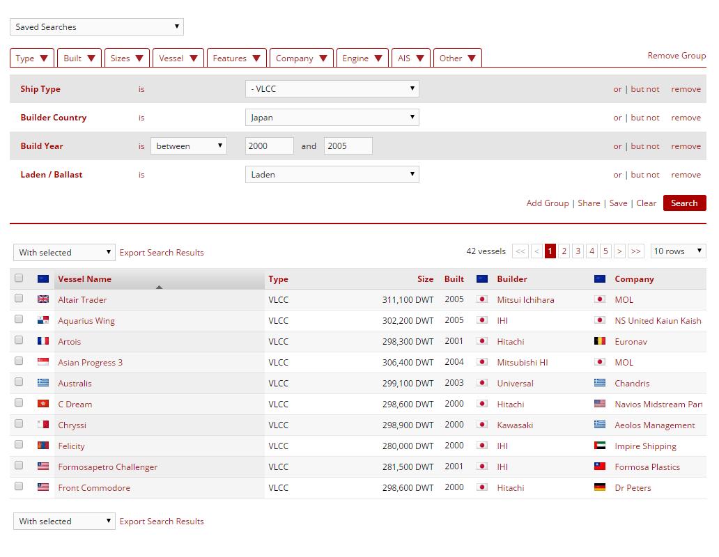 Example Fleet Database